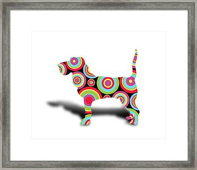 dog Framed Print by Mark Ashkenazi