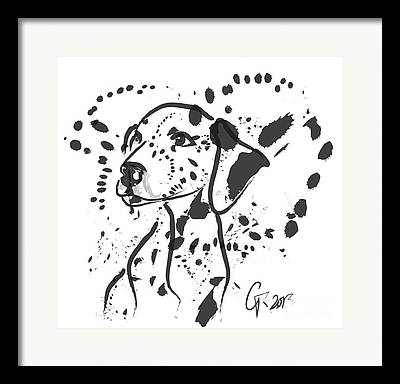 Dalmatian Framed Prints