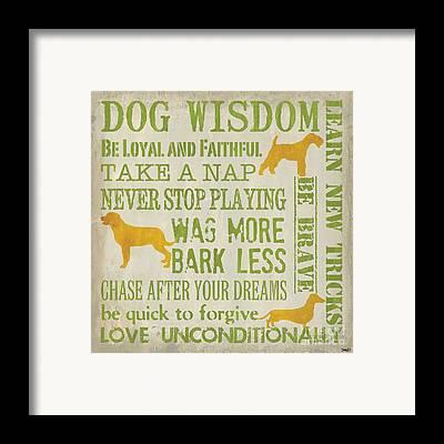Doggy Framed Prints