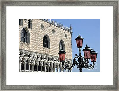 Doges Palace Framed Print