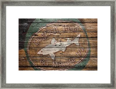 Dogfish Head Framed Print by Joe Hamilton