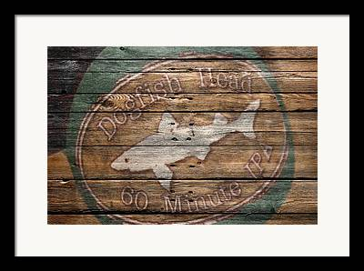 Dogfish Beer Framed Prints
