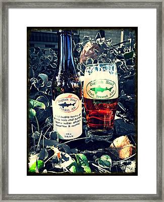 Dogfish Head Punkin Ale Framed Print by Kyle Vick