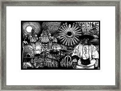 Dogon Dream Framed Print