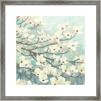 Dogwood Blossoms II Framed Print by James Wiens