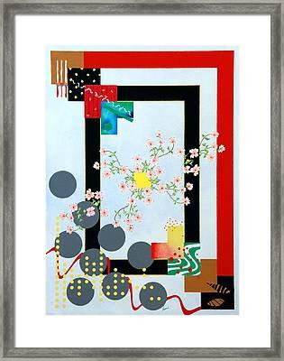 Dogwood Framed Print by Thomas Gronowski