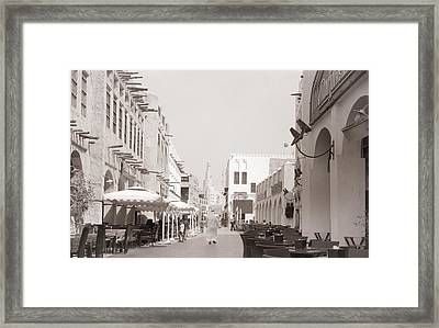 Doha Souq 2013 Framed Print by Paul Cowan