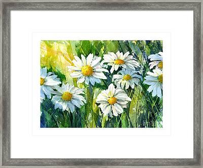Doin' Daisys Framed Print