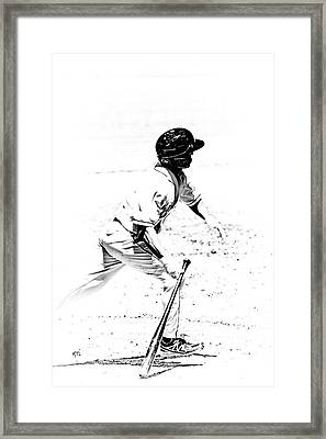 Doing It Framed Print by Karol Livote