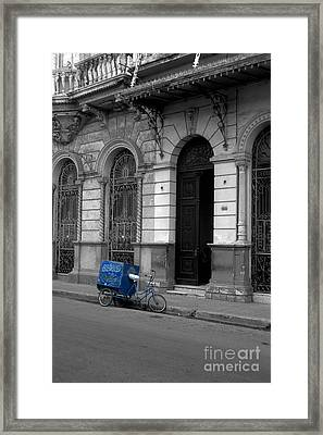 Doing The Rounds Framed Print by James Brunker