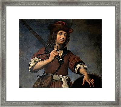 Dolci Carlo, David And Goliath, 17th Framed Print by Everett