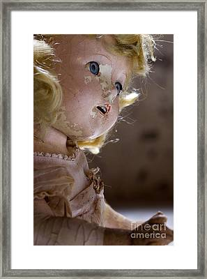Doll In The Attic Framed Print