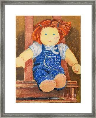 Doll Framed Print by Lutz Baar