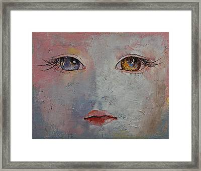Baby Doll Framed Print by Michael Creese