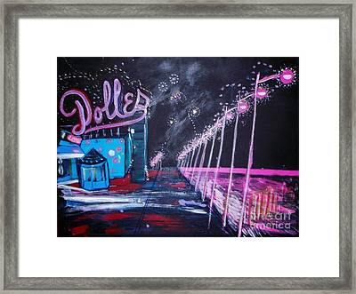 Dolles And Orion  Framed Print