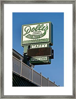 Dolle's Framed Print