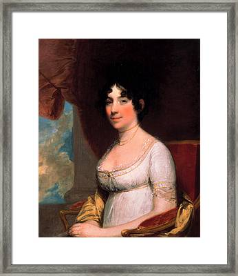 Dolley Payne Madison Framed Print