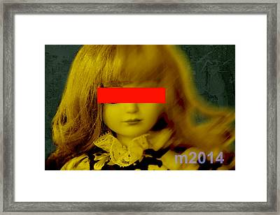 Dolls 22 Framed Print