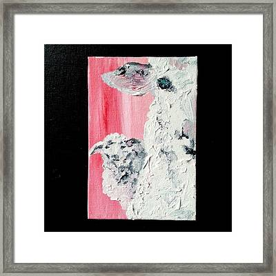 Dolly And Dot Framed Print