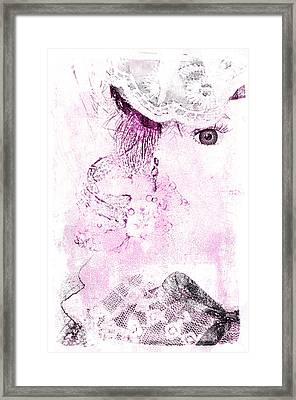 Dolly Framed Print by Davina Washington