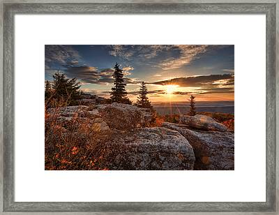 Dolly Sods Morning Framed Print