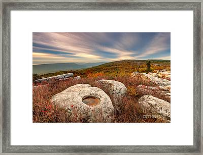 Dolly Sods Wilderness D30019870 Framed Print