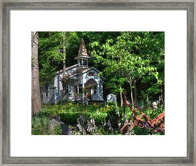 Dollywood Church Framed Print