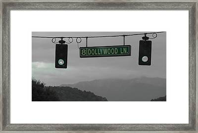 Dollywood Framed Print by Dan Sproul