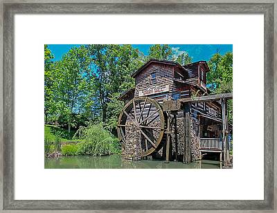 Framed Print featuring the photograph Dollywood  by Trace Kittrell