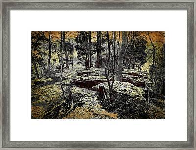 Dolomite Cliff Framed Print