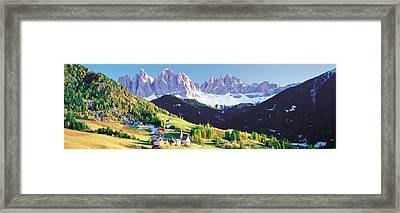 Dolomite Italy Framed Print by Panoramic Images