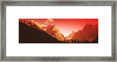 Dolomites, Italy Framed Print by Panoramic Images