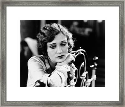 Dolores Costello, Late 1920s Framed Print