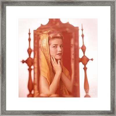 Dolores Hart Framed Print by Frank Bez