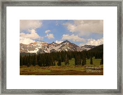 Dolores River Valley Framed Print by Christiane Schulze Art And Photography