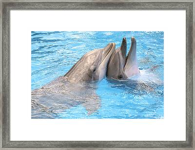 Bff - Best Friends Forever Framed Print