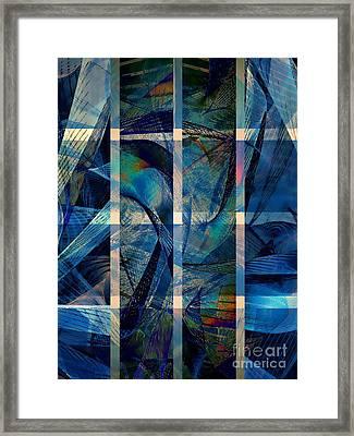 Dolphinarium Framed Print