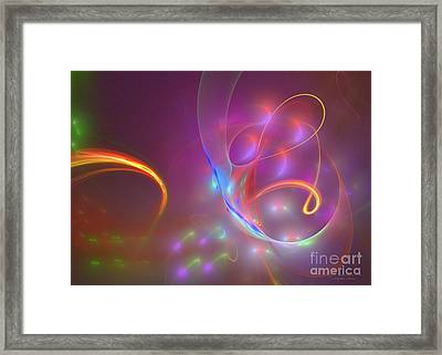 Dolphins Dream Framed Print by Sipo Liimatainen