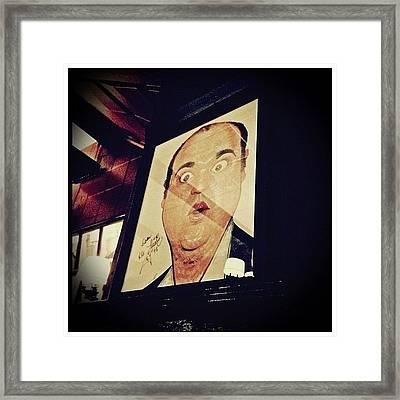 Dom Deluise Framed Print by Natasha Marco