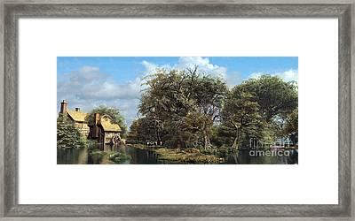 Domcast Final Framed Print by Dominic Davison