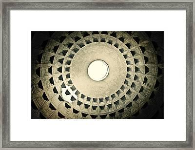 Dome Light Framed Print