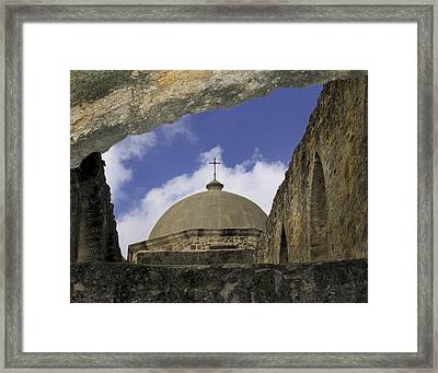 Dome Of San Jose Framed Print