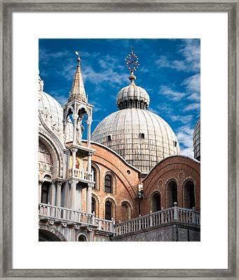 Dome Of St Marks Framed Print