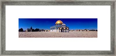 Dome Of The Rock, Temple Mount Framed Print by Panoramic Images