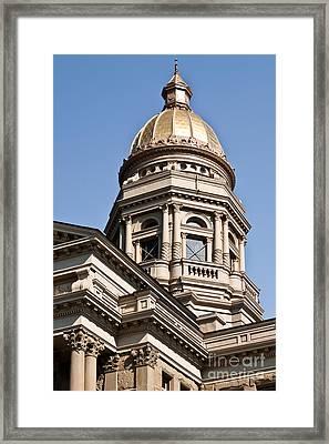 Dome On Capital Framed Print
