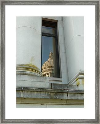 Dome Reflection Framed Print by Patricia Strand