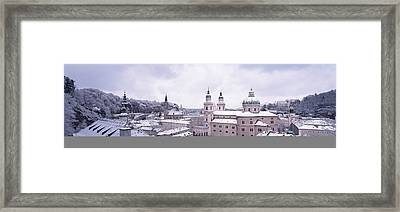 Dome Salzburg Austria Framed Print by Panoramic Images