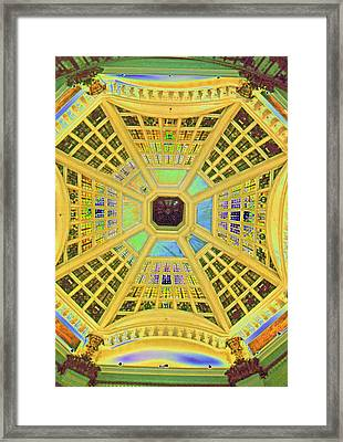 Domed Ceiling Framed Print by Paul Price