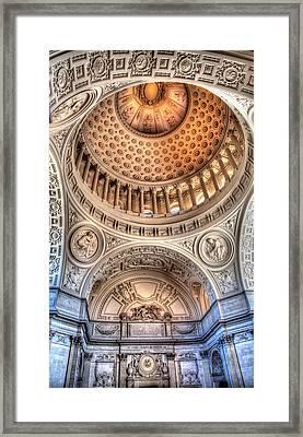 Domed Ornate Interior Framed Print