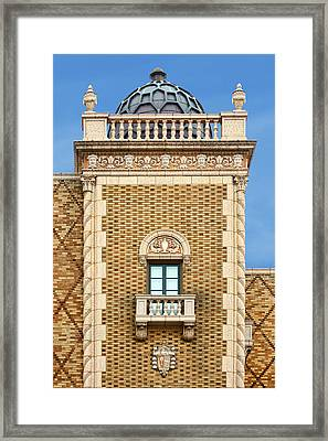 Domed Tower - The Rose - Omaha Framed Print by Nikolyn McDonald